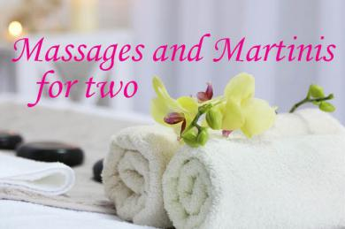 Massage and Martinis Package